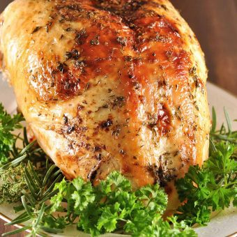 Apple Cider Brined Turkey Breast