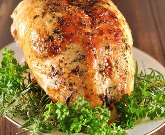 Apple Cider Brined Turkey Breast
