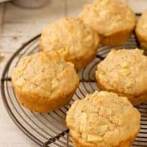Apple Oatmeal Muffin Recipe