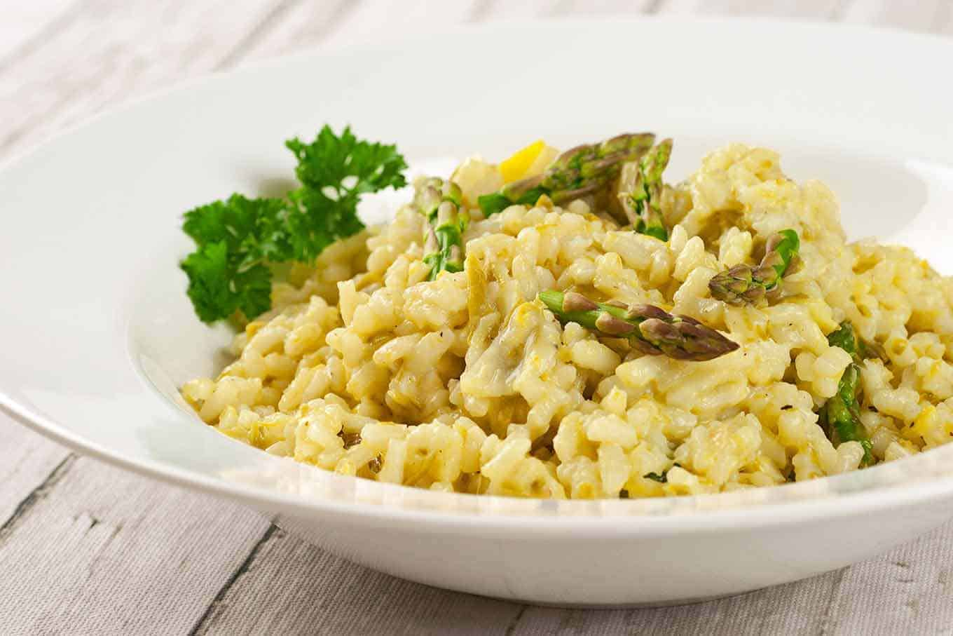 Asparagus and Lemon Risotto | MyGourmetConnection