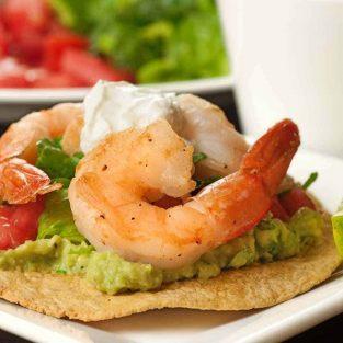 Shrimp Tostadas Recipe