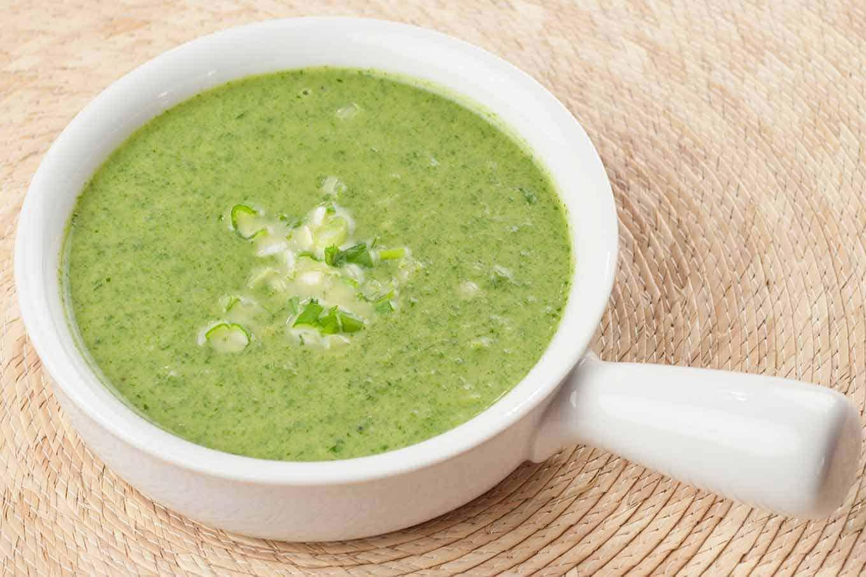 Avocado-Spinach Soup