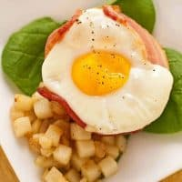 Baked Bacon, Egg and Cheese Cups