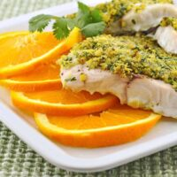 Baked Grouper with Citrus-Crumb Topping