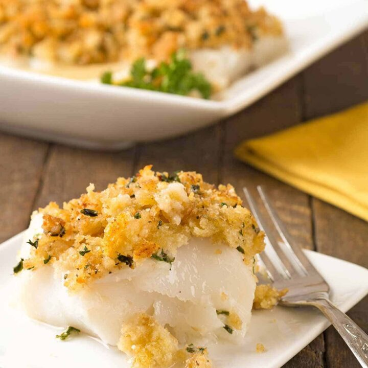 Baked Stuffed Cod