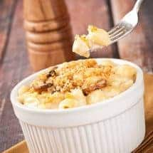 Baked Truffle Macaroni and Cheese