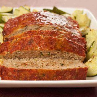 Balsamic-Basil Turkey Meatloaf