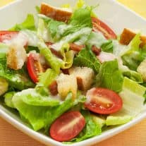 BLT Salad with Creamy Sweet Onion Dressing