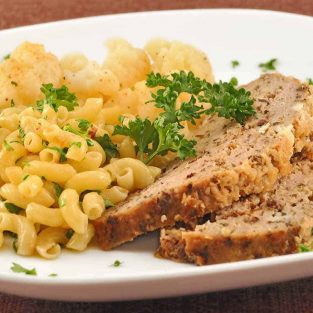 Blue Cheese-Turkey Meatloaf