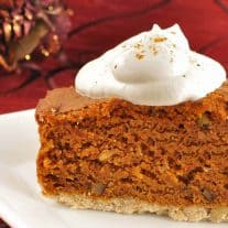 Bourbon-Laced Pumpkin Gingerbread Cake