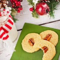Bourbon-Pecan Butter Cookies