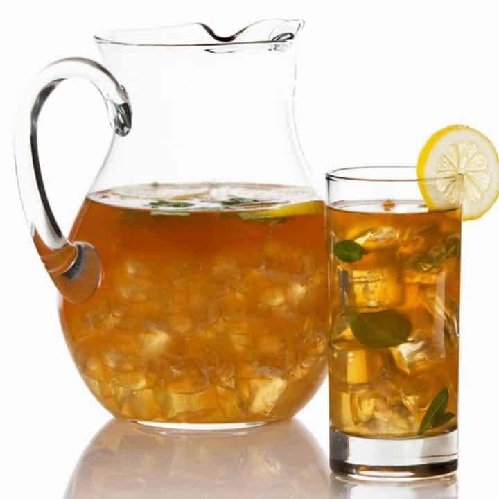 Bourbon-Spiked Iced Tea