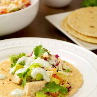 Broiled Fish Tacos Recipe