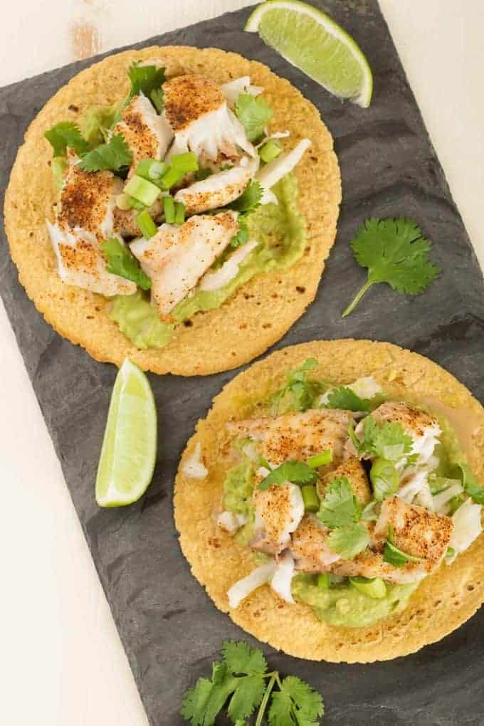 Mexican Cuisine: Recipe for Broiled Fish Tostadas