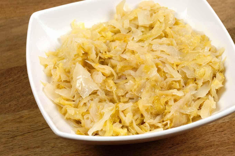 Квашеная капуста с фаршем рецепт с пошагово