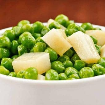 Buttered Peas and Parsnips