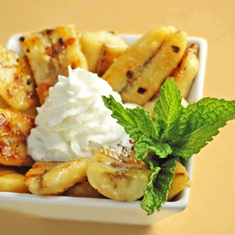Жареные бананы рецепт с мороженым