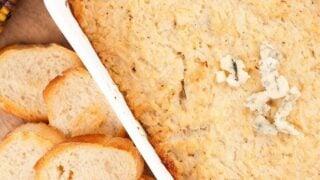 Cauliflower & Blue Cheese Dip