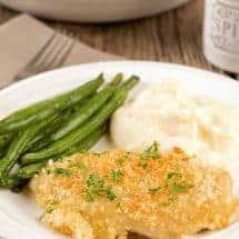Cheesy Baked Chicken Dijon
