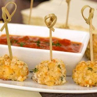 Crispy Cheesy Chicken Bites Appetizer Recipe