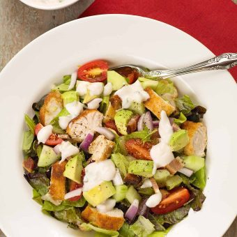 Chicken and Avocado Chopped Salad