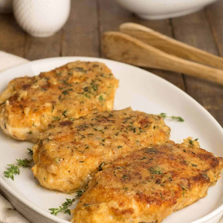Chicken Breasts with Shallots Honey and Thyme