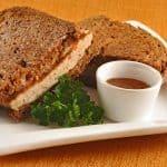 Chicken-Chutney Patty Melts
