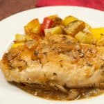 Chicken with Roasted Garlic Lemon and Thyme
