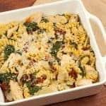Chicken, Spinach and Artichoke Bake