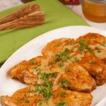 Chicken with Sweet and Smoky Pan Sauce