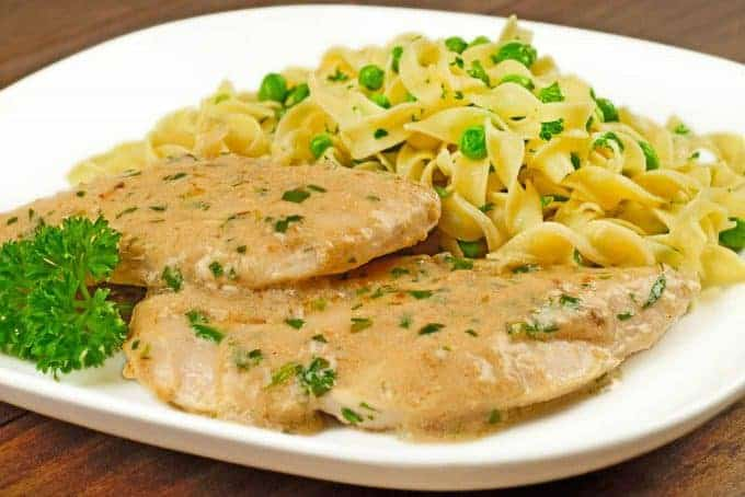 Chicken with Tarragon-Mustard Cream Sauce ...