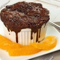 Chocolate-Orange Pudding Cakes