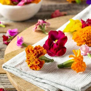 Choosing and Using Edible Flowers