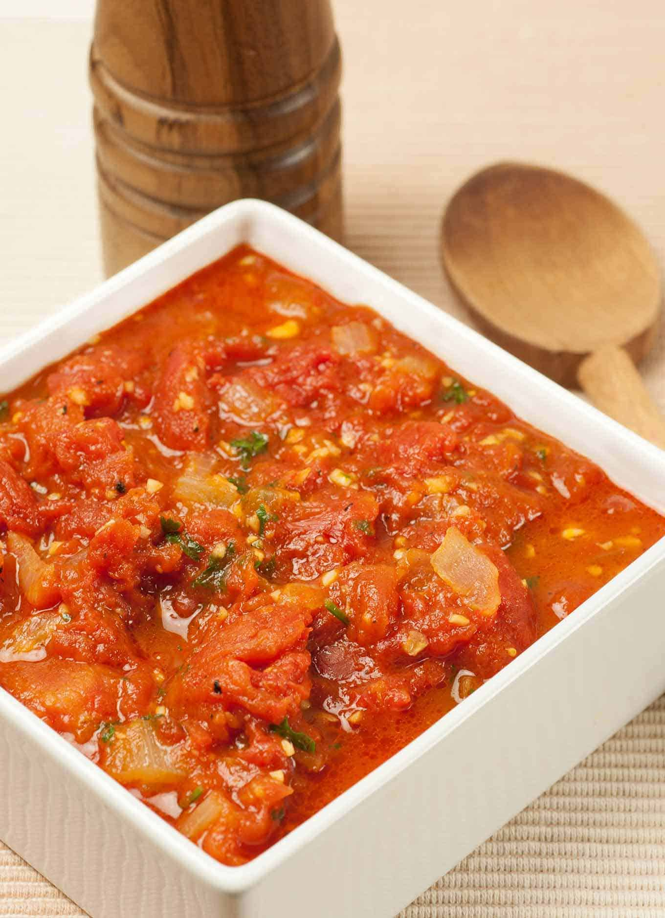 Chunky Marinara Sauce Recipe Mygourmetconnection