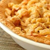 Cinnamon-Cardamom Apple Pie With Walnut Streusel Topping