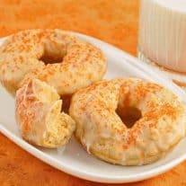 Cinnamon-Orange Baked Doughnuts
