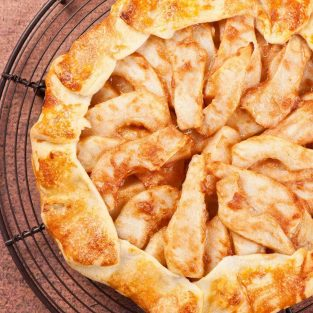 Cinnamon Spiced Pear Galette