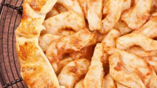 Cinnamon-Spiced Pear Galette