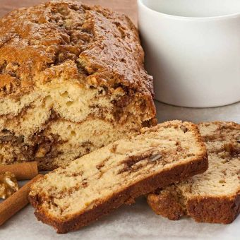 Cinnamon Walnut Quick Bread
