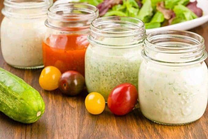 Classic Homemade Salad Dressings