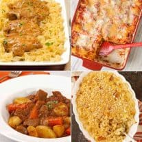 Favorite Comfort Food Dinners