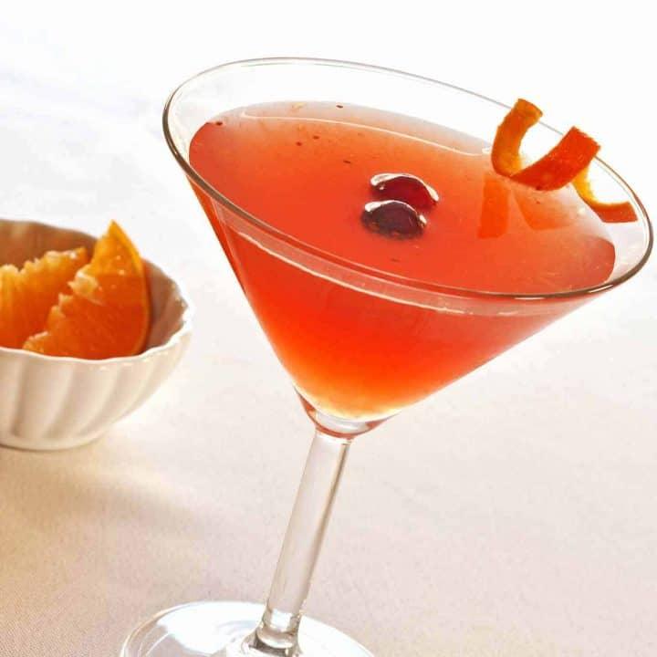 Cranberry Flower Martini