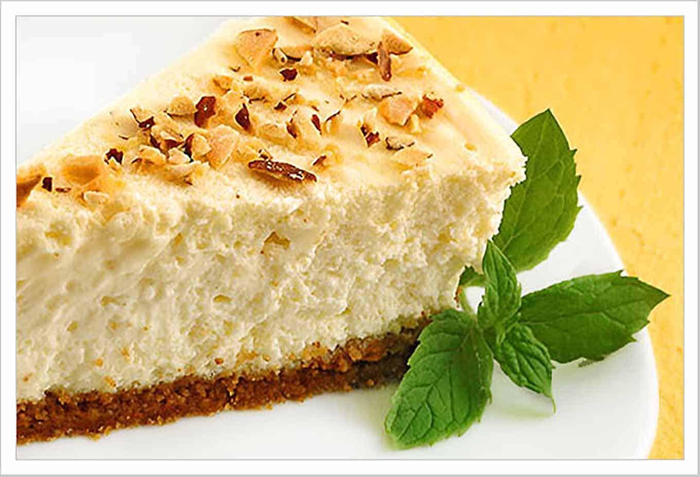 Creamy Amaretto Cheesecake