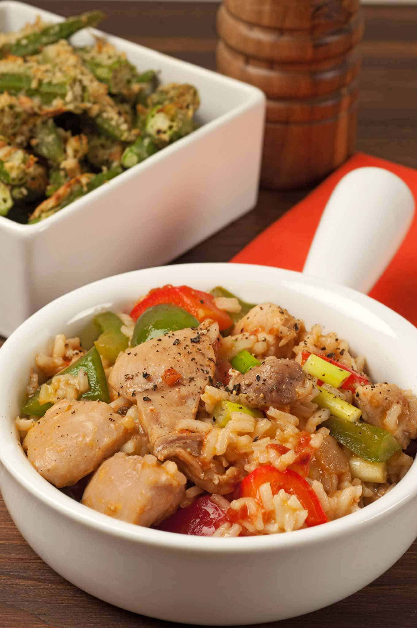 Creole-Style Chicken and Rice