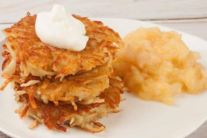 Crispy Potato Latkes (Potato Pancakes)
