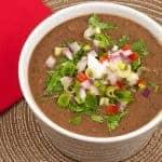 Cuban-Style Black Bean Soup