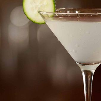 Cucumber-Ginger Martini