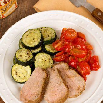 Cumin and Lime Roasted Pork Tenderloin