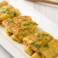 Curried Fish with Bananas