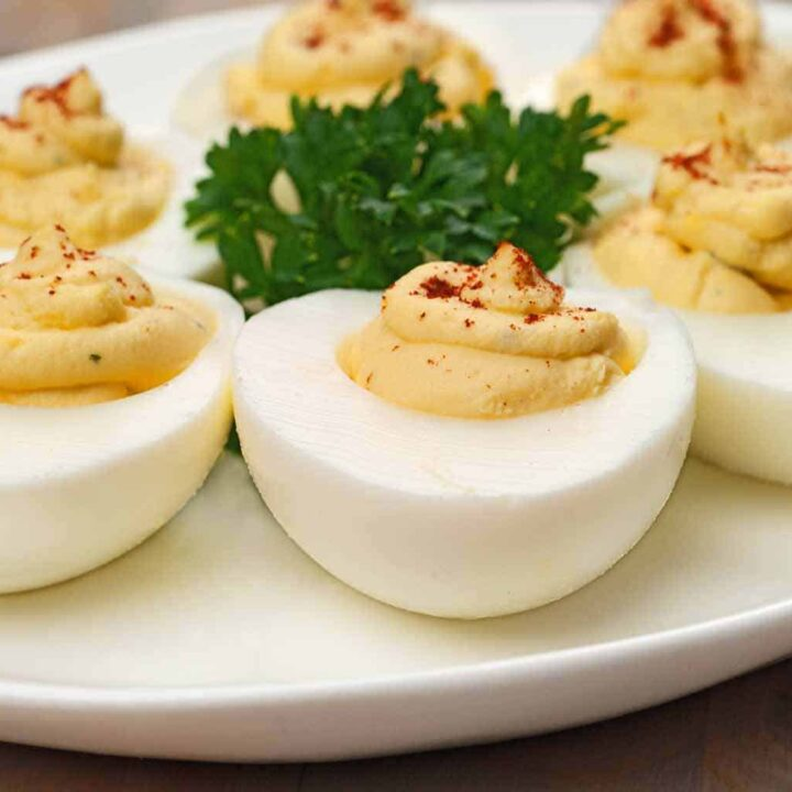 Deviled Eggs Two Ways